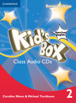 Kid's Box American English Level 2 Class Audio CDs (4) - Caroline Nixon