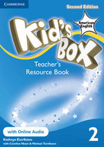 Kid's Box American English Level 2 Teacher's Resource Book with Online Audio - Kathryn Escribano