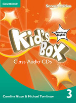 Kid's Box American English Level 3 Class Audio Cds (2) - Caroline Nixon