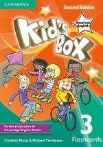 Kid's Box American English Level 3 Flashcards (Pack of 100) - Caroline Nixon