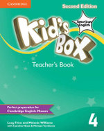 Kid's Box American English Level 4 Teacher's Book - Lucy Frino