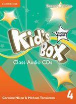 Kid's Box American English Level 4 Class Audio CDs - Caroline Nixon