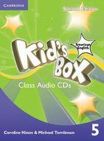 Kid's Box American English Level 5 Class Audio CDs - Caroline Nixon