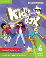 Kid's Box American English Level 6 Student's Book - Caroline Nixon