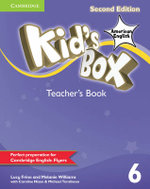 Kid's Box American English Level 6 Teacher's Book - Lucy Frino