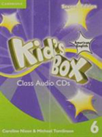 Kid's Box American English Level 6 Class Audio CDs (3) - Caroline Nixon