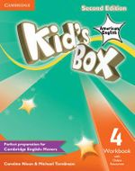 Kid's Box American English Level 4 Workbook with Online Resources - Caroline Nixon