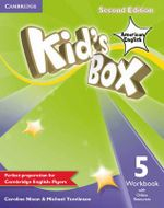 Kid's Box American English Level 5 Workbook with Online Resources - Caroline Nixon