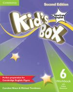 Kid's Box American English Level 6 Workbook with Online Resources - Caroline Nixon