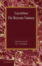 Lucretius - Lucretius