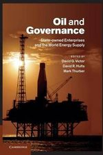 Oil and Governance : State-Owned Enterprises and the World Energy Supply