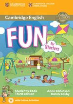 Fun for Starters Student's Book with Audio with Online Activities - Anne Robinson