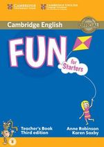 Fun for Starters Teacher's Book with Audio - Anne Robinson