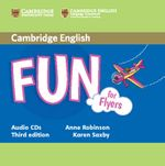 Fun for Starters, Movers and Flyers Audio CDs (2) - Anne Robinson