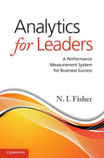 Analytics for Leaders - N. I. Fisher