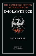 Paul Morel - D. H. Lawrence