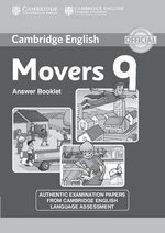 Cambridge English Young Learners 9 Movers Answer Booklet : Authentic Examination Papers from Cambridge English Language Assessment - Cambridge University Press