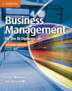 Business Management for the IB Diploma Coursebook : Ib Diploma - Peter Stimpson