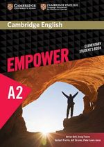 Cambridge English Empower Elementary Student's Book : Elementary - Adrian Doff