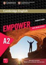 Cambridge English Empower Elementary Student's Book with Online Assessment and Practice, and Online Workbook - Adrian Doff