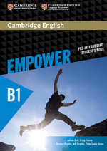 Cambridge English Empower Pre-Intermediate Student's Book : Pre-intermediate - Adrian Doff