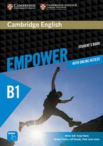 Cambridge English Empower Pre-Intermediate Student's Book with Online Assessment and Practice, and Online Workbook : Pre-intermediate - Adrian Doff