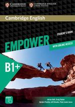 Cambridge English Empower Intermediate Student's Book with Online Assessment and Practice and Online Workbook - Adrian Doff