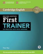 First Trainer Six Practice Tests with Answers with Audio - Peter May