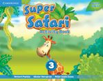 Super Safari Level 3 Activity Book - Herbert Puchta