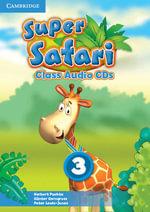 Super Safari Level 3 Class Audio CDs (2) - Herbert Puchta