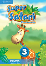 Super Safari Level 3 Flashcards (Pack of 78) - Herbert Puchta
