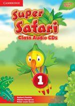 Super Safari American English Level 1 Class Audio CDs (2) - Herbert Puchta