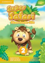 Super Safari American English Level 2 Class Audio CDs (2) - Herbert Puchta