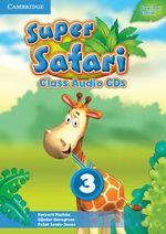 Super Safari American English Level 3 Class Audio CDs (2) - Herbert Puchta