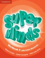 Super Minds Level 4 Workbook with Online Resources - Herbert Puchta