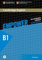Cambridge English Empower Pre-Intermediate Workbook Without Answers with Downloadable Audio - Peter Anderson