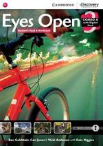 Eyes Open Level 3 Combo A with Online Workbook and Online Practice - Ben Goldstein