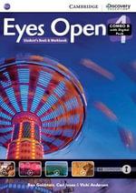 Eyes Open Level 4 Combo B with Online Workbook and Online Practice - Ben Goldstein