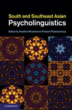 South and Southeast Asian Psycholinguistics - Heather Winskel