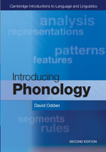 Introducing Phonology - David Odden