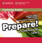 Cambridge English Prepare! Level 5 Class Audio CDs (2) : Cambridge English Prepare! - Annette Capel