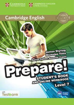 Cambridge English Prepare! Level 7 Student's Book and Online Workbook with Testbank : Level 7 - James Styring