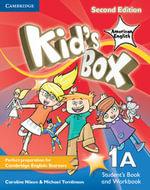 Kid's Box American English Level 1A Student's Book and Workbook Combo Split Combo Edition : Level 1A - Caroline Nixon