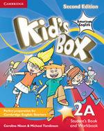 Kid's Box American English Level 2A Student's Book and Workbook Combo Split Combo Edition : Level 2A - Caroline Nixon