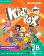 Kid's Box American English Level 3B Student's Book and Workbook Combo Split Combo Edition : Level 3B - Caroline Nixon