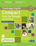 Compact First for Schools Student's Book Without Answers with CD-ROM with Testbank - Barbara Thomas