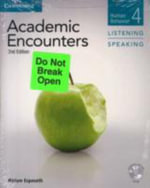 Academic Encounters Level 4 (Student's Book Reading and Writing and Student's Book Listening and Speaking with DVD) : Human Behavior - Bernard Seal