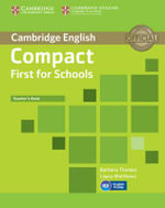 Compact First for Schools Teacher's Book : Cambridge English - Barbara Thomas