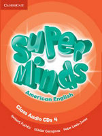Super Minds American English Level 4 Class Audio CDs (4) - Herbert Puchta