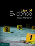 Law of Evidence - Nicola Monaghan